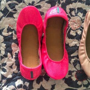Neon Pink Tieks